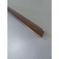 Стикова планка для стільниці LUXEFORM кутова колір RAL8014